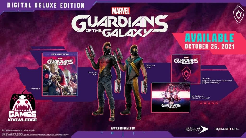 console gaming news Marvel's Guardians of the Galaxy